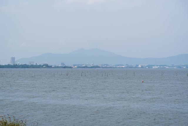 霞ヶ浦から筑波山