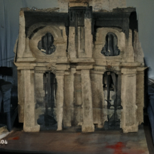 'a cathedral' Quick CLIP Guided Diffusion