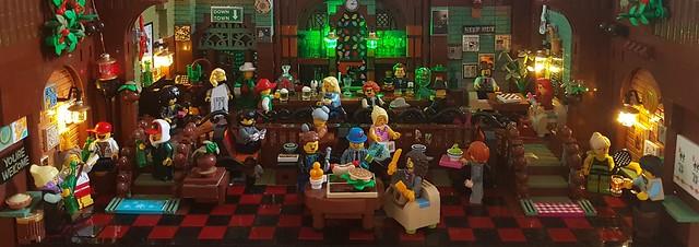 Lego MOC of Vic's Inn