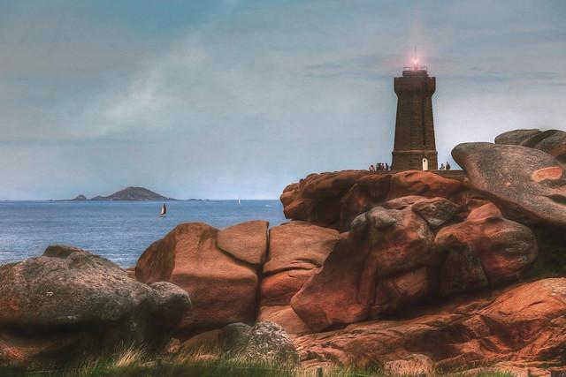 Lighthouse at Ploumanach