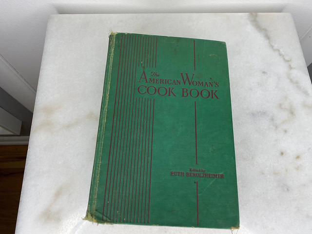 The American Woman's Cook Book Edited by Ruth Berolzheimer (1941) Hardcover 1