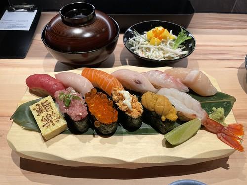 Raku Sushi Set