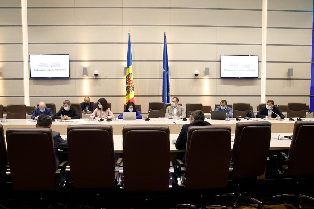 14.09.2021 Ședința comună a Comisiei securitate națională, apărare și ordine publică și a Comisiei juridice, numiri și imunități
