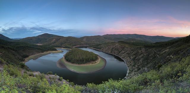 Meandro del Melero -Caceres (6 fotos verticales)