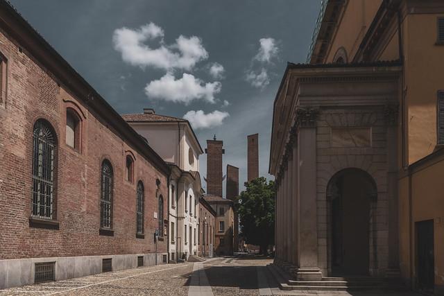 Old medieval towers