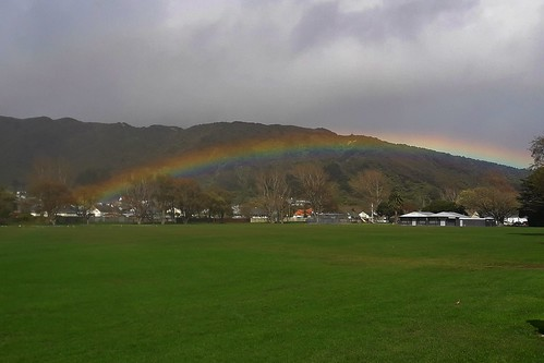 <p>Got soaked while I stopped to get the rainbow, sadly someone else found the pot of gold! Better luck next time.</p>