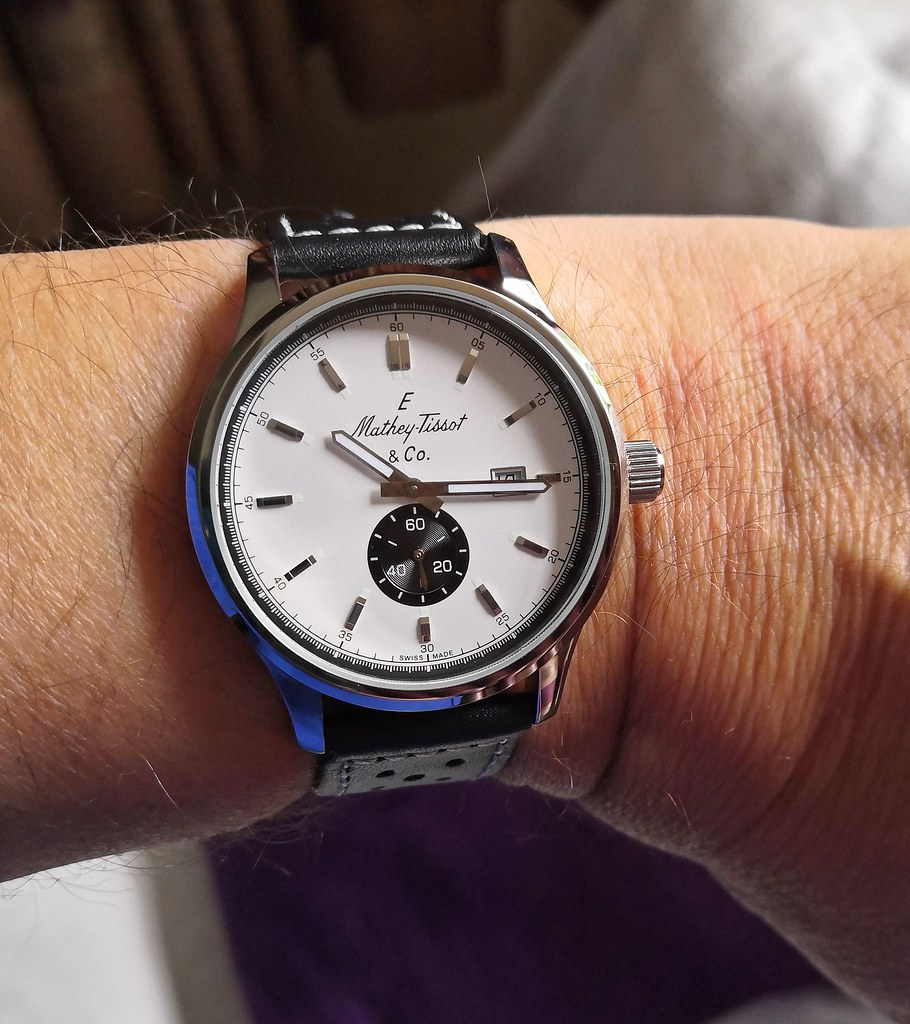 Mathey Tissot Limited Edition (21-66) Lord Collection (Cal Ronda 1009)