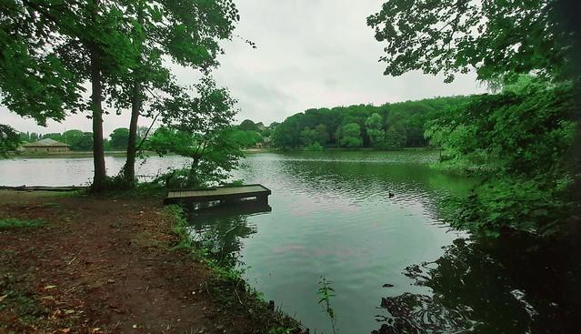 Lake view at Newmillardam
