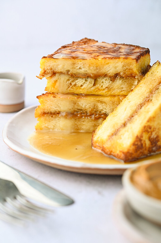 French Toast Hong Kong Style