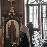 13 сентября 2021, Молебное пение на благополучное завершение строительства и закладка камня в алтаре с мощами в храме в честь св. Симеона Тверского (Тверь)   13 September 2021, Remembrance day of St. Alexander Nevsky. Alexander Nevsky Cathedral (Tver)