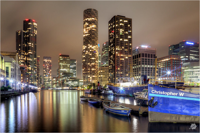 Wood Wharf and The South Dock September 2021