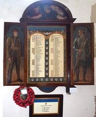 Edward Packard & Sons war memorial