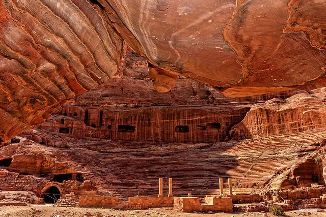 Nabatean amphitheatre