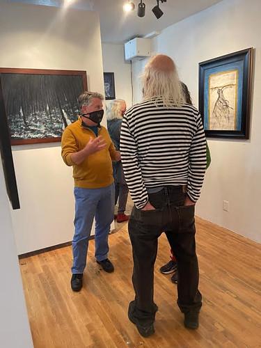 Opening of Enigma solo exhibition by Matthew Felix Sun, Gallerie Valerie, Crockett, CA