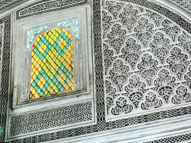028 Libya Tripoli Mosque Windows