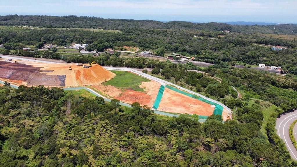 20210911銅科環差地方說明會。力積電開發與土方堆置的現況。照片提供:賴世若