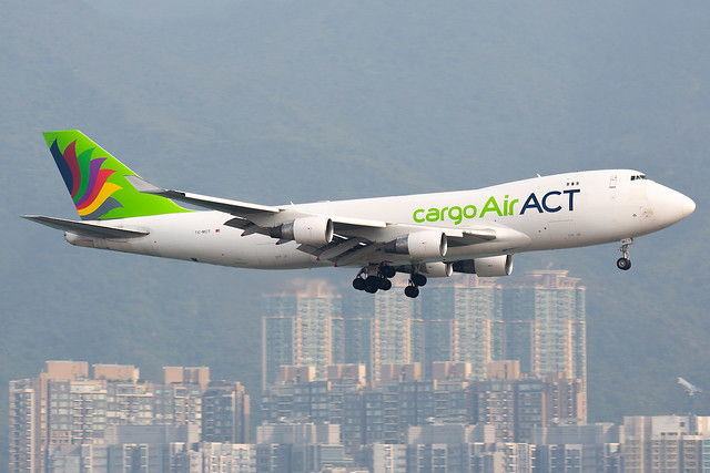 ACT Airlines | Boeing | 747-412F | TC-MCT