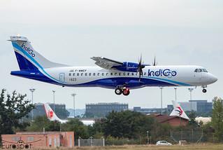 F-WWEP ATR72-600 Indigo s/n 1623 * Toulouse Blagnac 2021 *