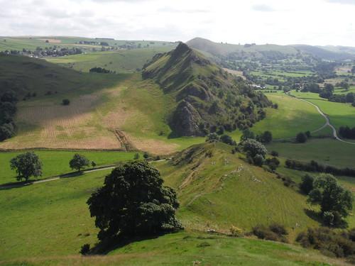 Chrome Hill lower ridge, Parkhouse Hill, Hitter Hill, High Wheeldon, Upper Dove Valley SWC 386 - Buxton Circular via the Dragon's Back