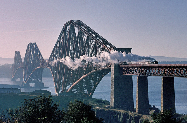 A2 on the Forth Bridge