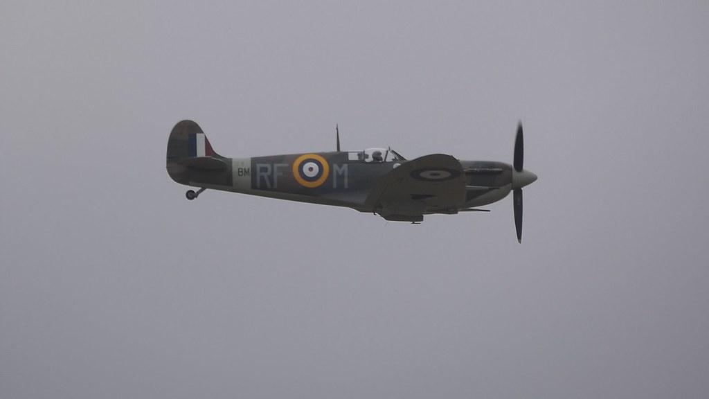 Spitfire Mk.Vb BM597 - IWM Duxford, incl 'Flying Day'