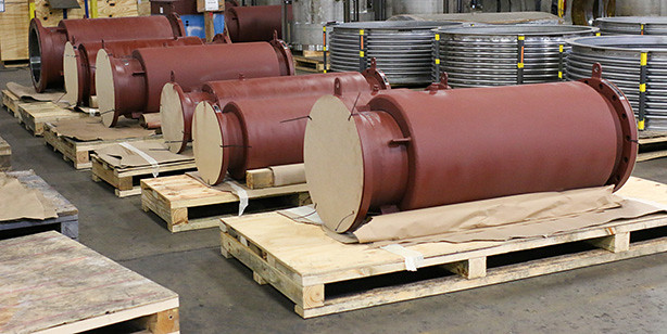 Externally Pressurized X-Flex Expansion Joints for a Overseas Facility