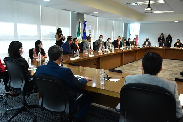 Sesión Solemne de Entrega del Tercer Informe de Gobierno del Presidente Municipal de Tlajomulco, Salvador Zamora