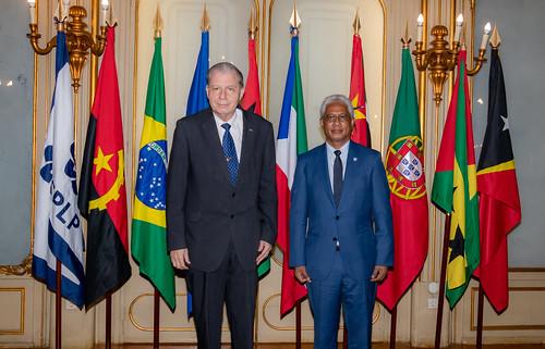 21.09. Secretário Executivo recebe Representante do Brasil junto à CPLP