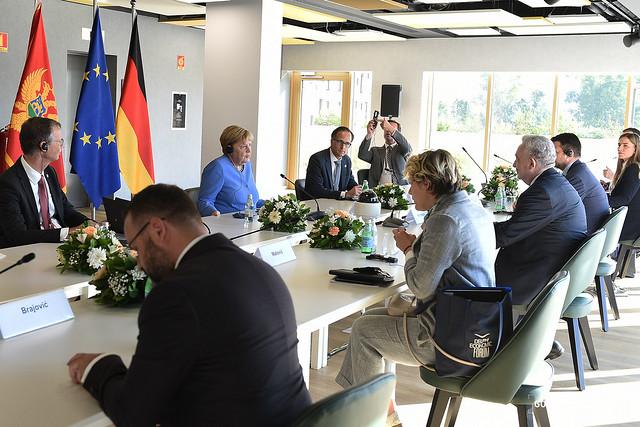 Zdravko Krivokapić - Angela Merkel