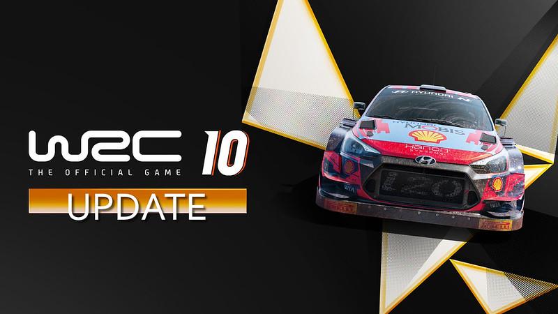 WRC 10 Update