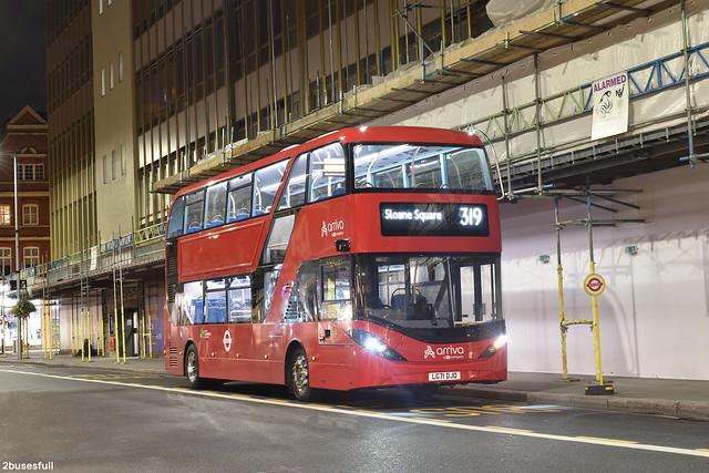 319   Arriva London   EA2   Sloane Square