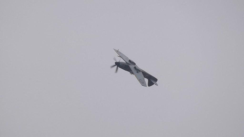 Spitfire Mk.XIV MV293 - IWM Duxford, incl 'Flying Day'