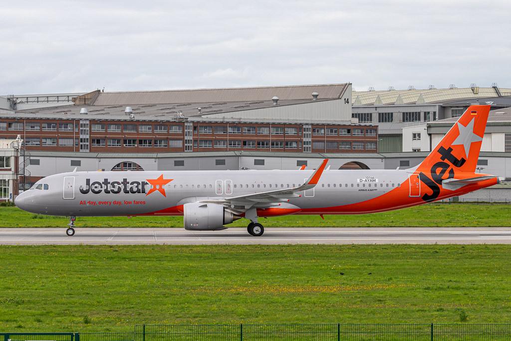 A321-251NX Jetstar Japan D-AYAM - JA27LR MSN10146