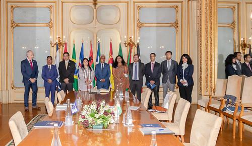 21.09. Secretário Executivo recebe Ministra de Estado dos Negócios Estrangeiros do Governo da Índia