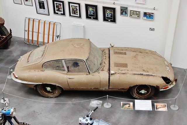 Isle of Man Motor Museum E Type Jaguar