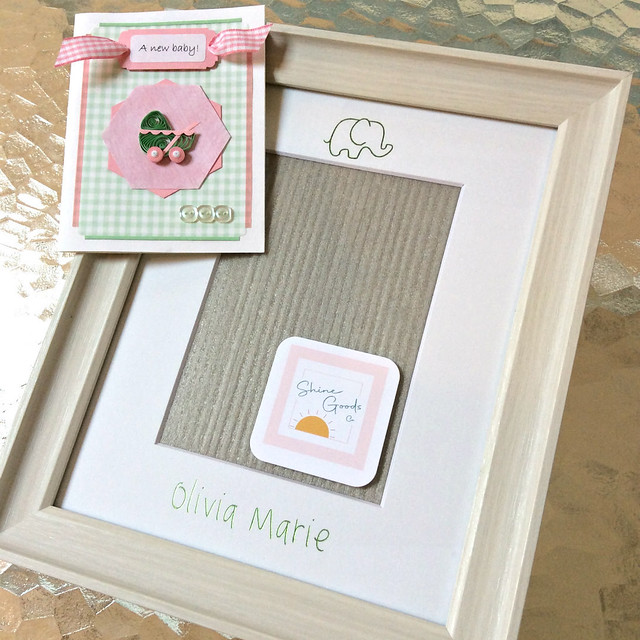DIY Quilled Card (plus a Foil Transfer Personalized Mat)