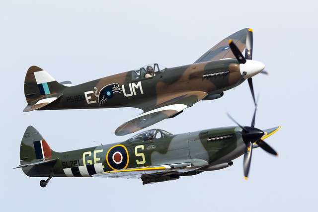 Supermarine Spitfire Mk.XVI / OO-XVI