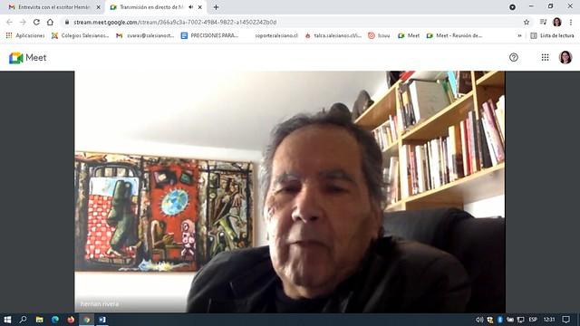 Entrevista Hernán Rivera Letelier