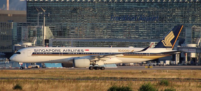 Singapore Airlines, 9V-SMF, MSN 54, Airbus A350-941, 08.08.2021, FRA-EDDF, Frankfurt