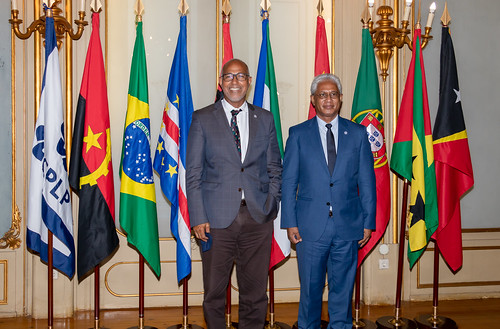 21.09. Secretário Executivo recebe Embaixador de Cabo Verde junto da CPLP