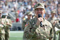 2021-9-11: Alumni Wreath Laying and Review, Army v. Western Kentucky