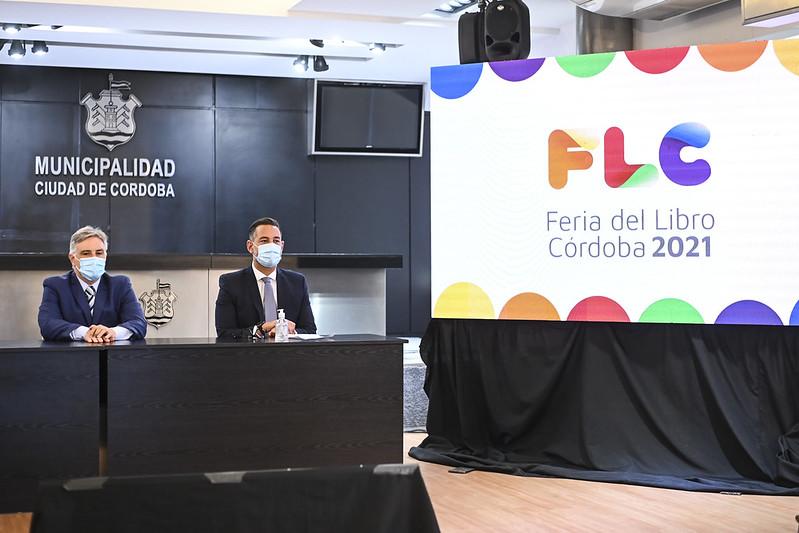 Llaryora presentó la Feria del Libro Córdoba 2021