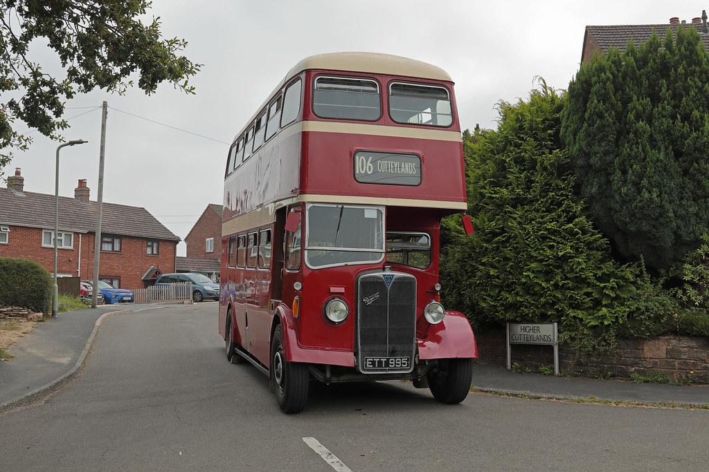 AEC Regent ETT 995.Cotteylands, Tiverton.05.09.21.RAyre.
