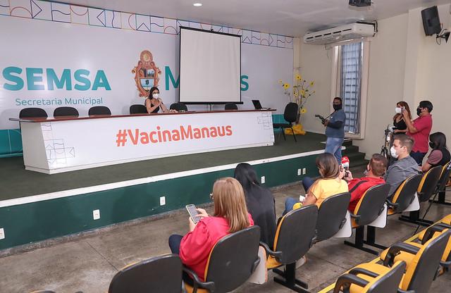 14.09.21 - Prefeitura detalha início de aplicação da terceira dose da vacina contra a Covid-19