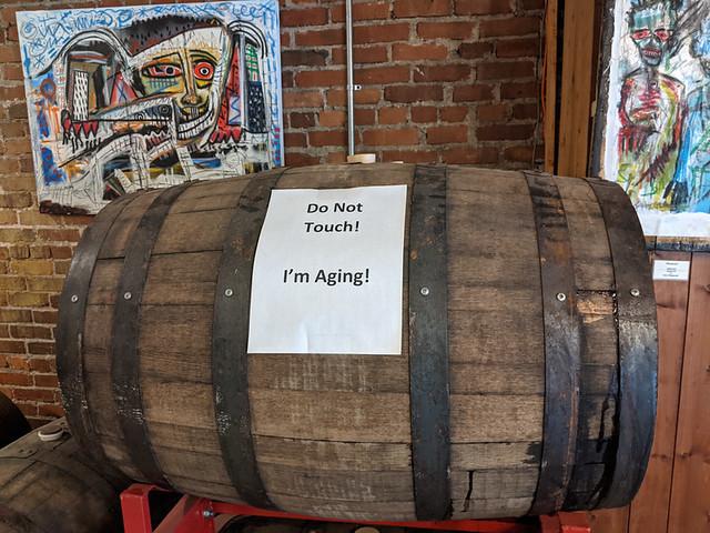 barrel @ Frog Level Brewing