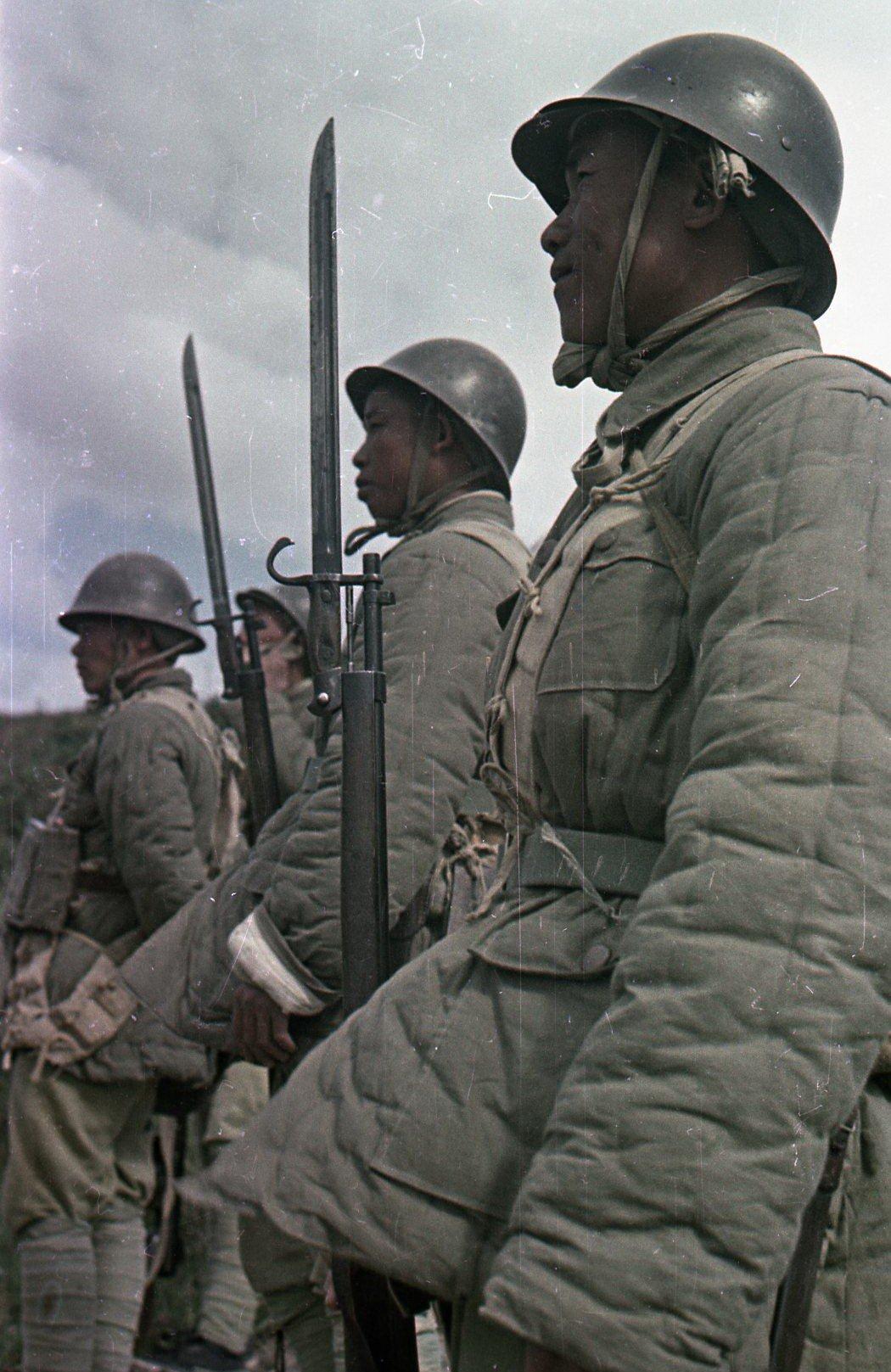 1949. Бойцы Народно-освободительной армии Китая