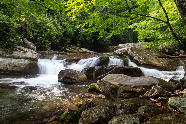 Big Creek Trail cascade