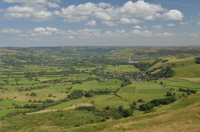 The Hope Valley, Peak District National Park, Derbyshire, England.