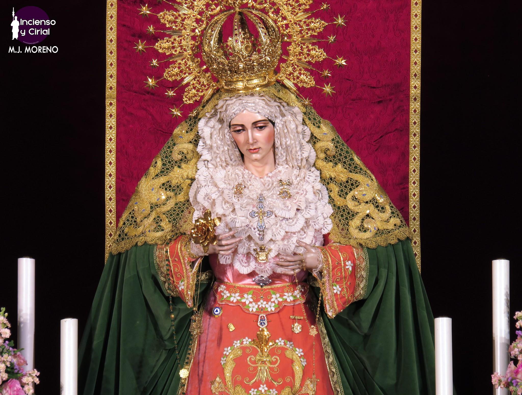 Así fue el triduo en honor a la Virgen de la Aurora