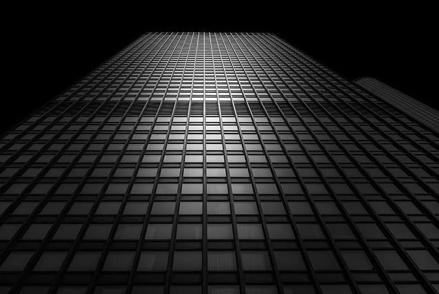 Downtown Chicago (monochrome)